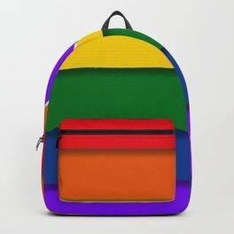 LGBTQ+ Heart Flag Backpack