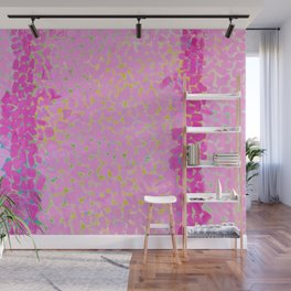 Classical African-American Masterpiece 'Wind and Crepe Myrtle Concerto' by Alma Thomas Wall Mural