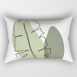 Living foliage Rectangular Pillow