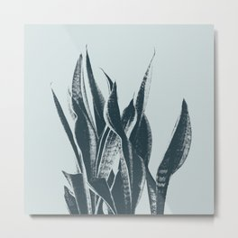 Long Leaves of The Green Plant #decor #society6 #buyart Metal Print