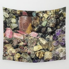 Gems collection 3 Wall Tapestry