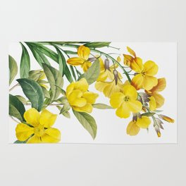 Yellow Flowers Rug