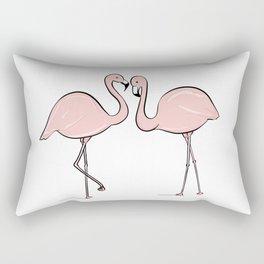 Flamingo Lovers Rectangular Pillow