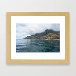 NaPali Coast No. 7 Framed Art Print