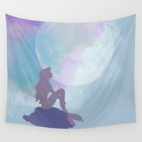 ariel Wall Tapestries featuring ariel by Vita♥G