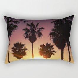 Venice Purple Sky Rectangular Pillow