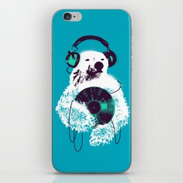 Record Bear iPhone Skin