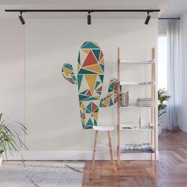 Mod Geo: Cactus Wall Mural