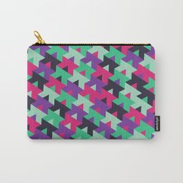 Black Pink Purple Teal Carry-All Pouch