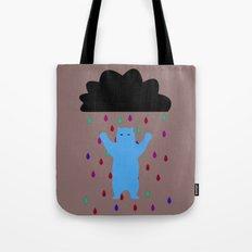 RETRO RAIN DANCE Tote Bag