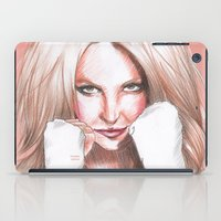 britney spears iPad Cases featuring Britney Spears Shape Magazine by Eduardo Sanches Morelli