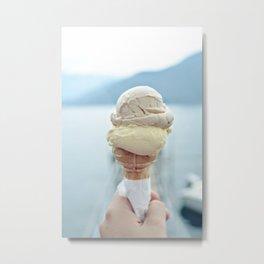 Italian gelato Metal Print