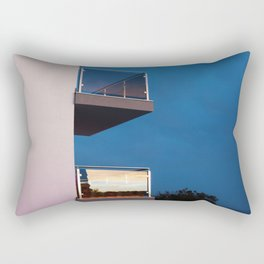 Binoculars Rectangular Pillow