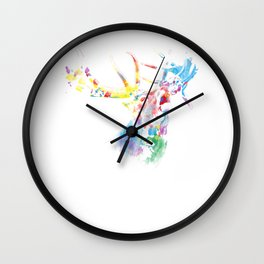 Deer Gift Idea Wall Clock
