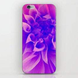 Macro Pink Flower iPhone Skin