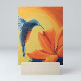 Sun radiation   Rayonnement de soleil Mini Art Print