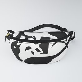 Two Magpie Fanny Pack