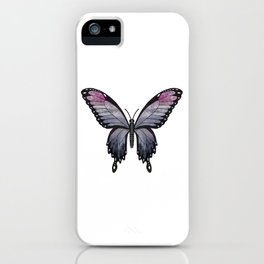 heather imp swallowtail (Papilio impa hathir) iPhone Case