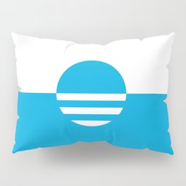 Milwaukee Wisconsin - Cyan - People's Flag of Milwaukee Pillow Sham