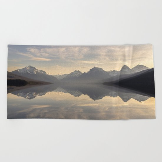 Landscape Reflections #mountain Beach Towel