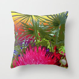 Friday's Hike Throw Pillow