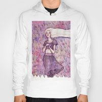 daenerys targaryen Hoodies featuring Waiting by Verismaya