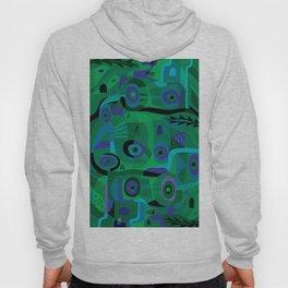 Cabins in the Sea Hoody