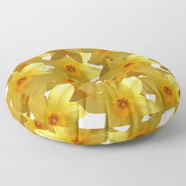 My Daffodils Floor Pillow