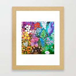 Life is a Tapestry Framed Art Print