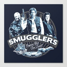 Smugglers Three Canvas Print