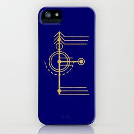Sacred Geometry Letter E iPhone Case