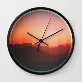 Fractions C07 Wall Clock