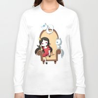 princess Long Sleeve T-shirts featuring Princess by Freeminds