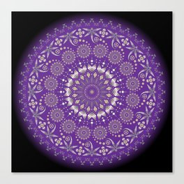 Ancestors (Purple) Canvas Print