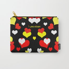 I Love Mickey Carry-All Pouch
