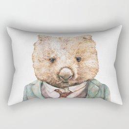 Wombat Rectangular Pillow