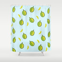 Durian Shower Curtain