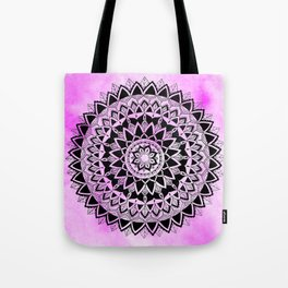 Purple Haze Mandala Tote Bag