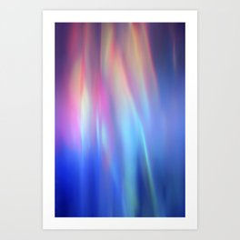 Heavenly lights in water of Life-3 Art Print