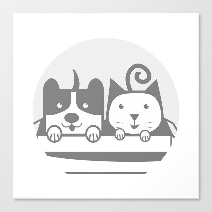 my Pets 02 Canvas Print