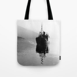 Fjord ship Tote Bag
