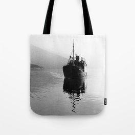 Fjord ship Tote Bag