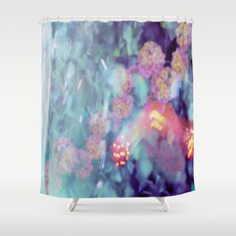 frosted flower  Shower Curtain