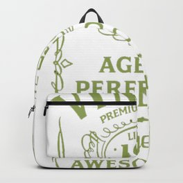 Green-Vintage-Limited-1999-Edition---18th-Birthday-Gift---Sao-chép Backpack