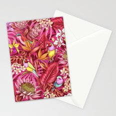 Stand out! (sunset flame) Stationery Cards