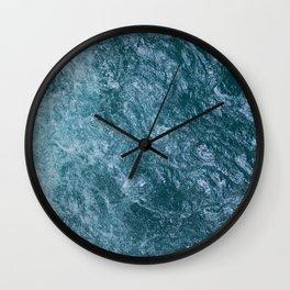 Mountain Waters II (Norway) Wall Clock