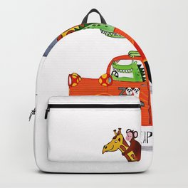 Escape from the Zoo! Backpack