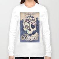 the goonies Long Sleeve T-shirts featuring Goonies by Jared Andolsek