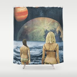 Celestial Bodies Shower Curtain