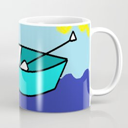 The Seal and The Boat Coffee Mug